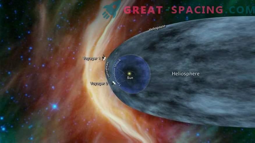 NASAs Voyager-2 närmar sig mystiskt interstellärt utrymme