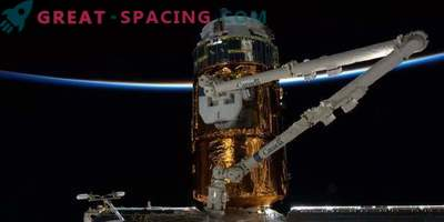 Japan sendet einen Weltraummüllsammler an die ISS