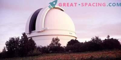 Nytt teleskop för att observera den norra himlen