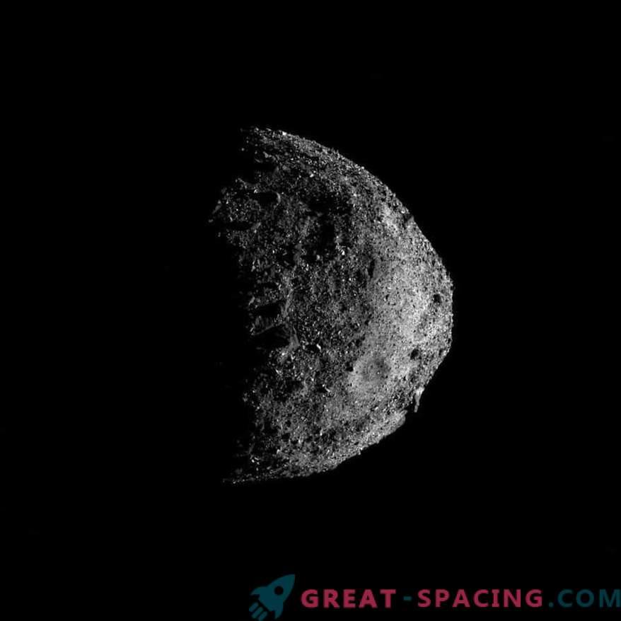 Första ungefärliga fotografier av en avlägsen asteroid Bennu
