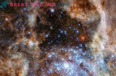 Hubble avastas, kus elavad superstaarid.