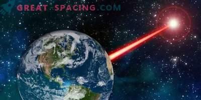 Močan zemeljski signal vam omogoča, da pošljete signal tujcem