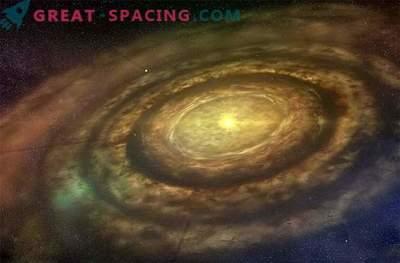 Los brazos espirales extraños pueden ocultar planetas emergentes