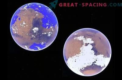 Är den röda planeten verkligen en isig värld?