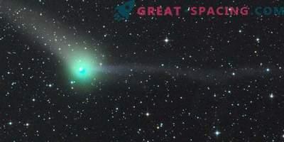 Den första spetsen av kometen ger nya pussel