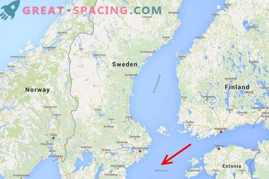 Anomalier i Östersjön: Spår av ett främmande skepp eller en formation som är okänd för vetenskapen?