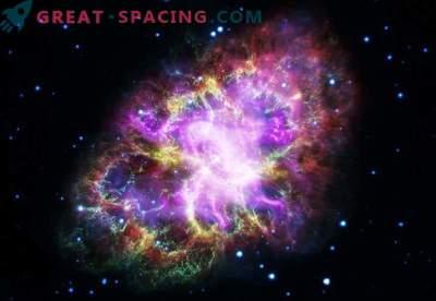 Integrerad observation av krabba nebula