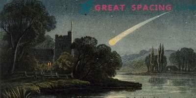 Fantastiska bilder av kometer som skrämde mänskligheten