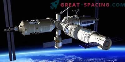 Kina är redo att skapa en orbitalstation och mätas med raketer med Ilon Mask