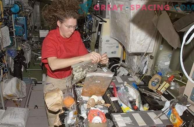 NASA utvecklar en ny frukost för astronauter