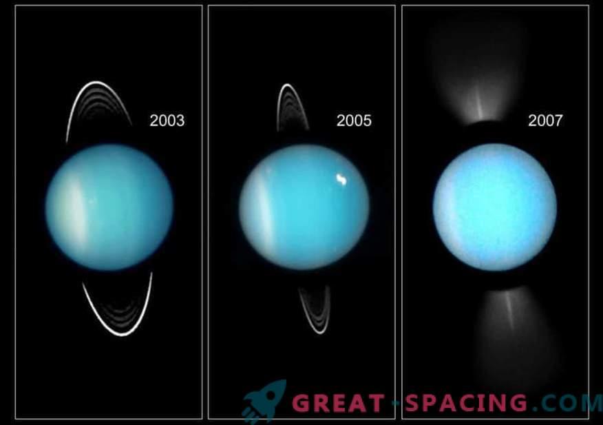 Como Urano se tornou o planeta mais frio do sistema solar
