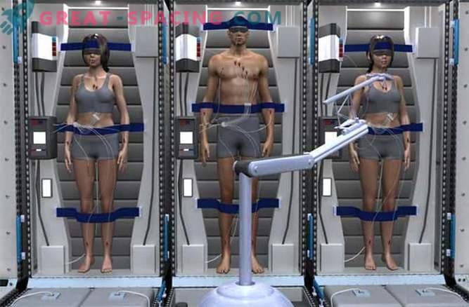Astronauterna kommer att läggas i ett djupt viloläge för att resa till Mars