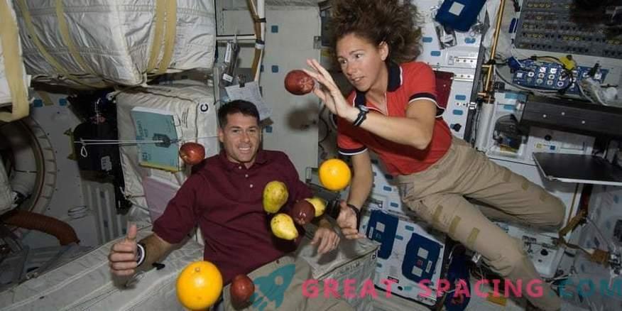 Viktlöshet ökar astronautens kroppstemperatur