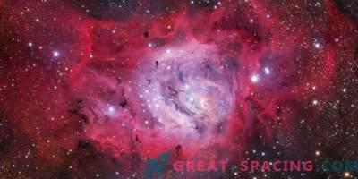 Forskare studerar öppet kluster NGC 6530