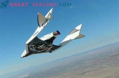La nave espacial SpaceShipTwo se estrelló durante el vuelo de prueba
