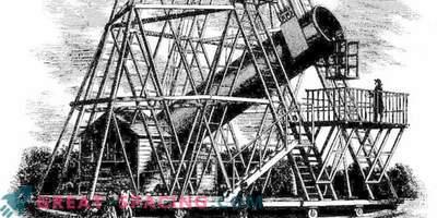 Vilken William Herschels gigantiska teleskop såg ut som