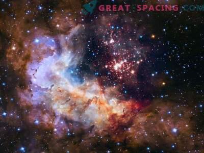 Hubble presenterar en fantastisk jubileumsbild