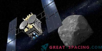 Hayabusa-2 will try to mine the first asteroid sample next month.