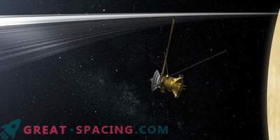 Vad lär vi oss om Uranus genom att dyka Cassini i Saturns ringar?