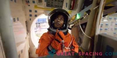 Astronaut Stephanie Wilson förbereder sig för rymden