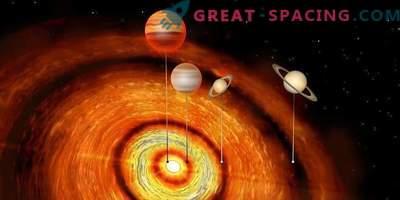 Hiiglaslikud planeedid noore tähe ümber