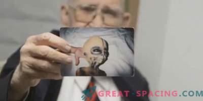 Boyd Bushman försäkrar att det här är bilder av en utomjordisk varelse
