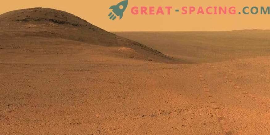 Die Mars-Rover-Gelegenheit schweigt.