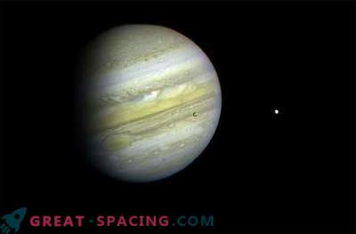 En rymdsten kraschade i Jupiter