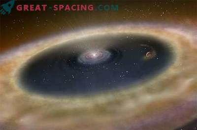 För första gången har astronomer kunnat observera processen av planetens ursprung