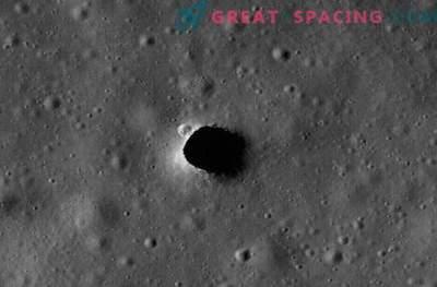 Lava rör på månen kan skydda astronauter