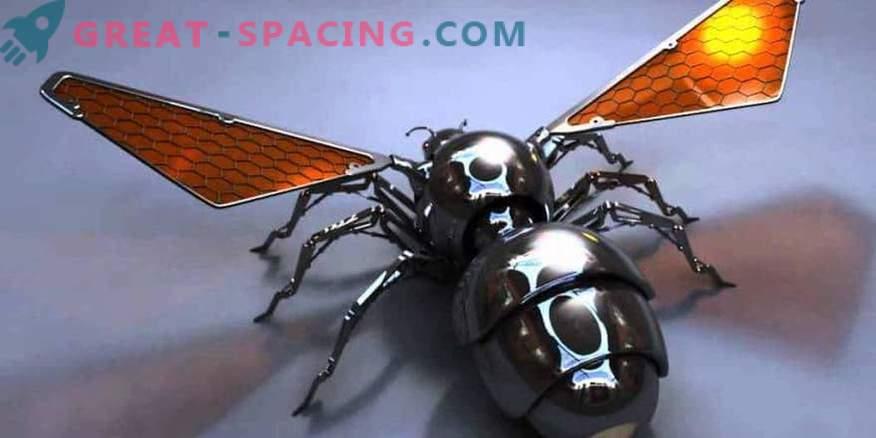 Robot bin kan skicka till Mars