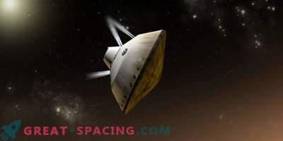 Forskare letar efter ett sätt att landa tungare fordon på Mars