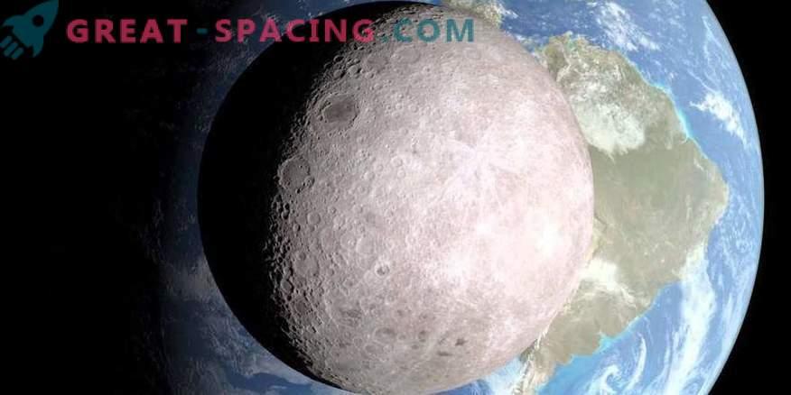 Vad gömmer sig på den mörka sidan av månen