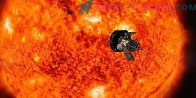 Solproben Parker gjorde det första nära flyget till solen