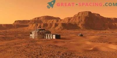 Przytulne mini-domy dla odkrywców Marsa