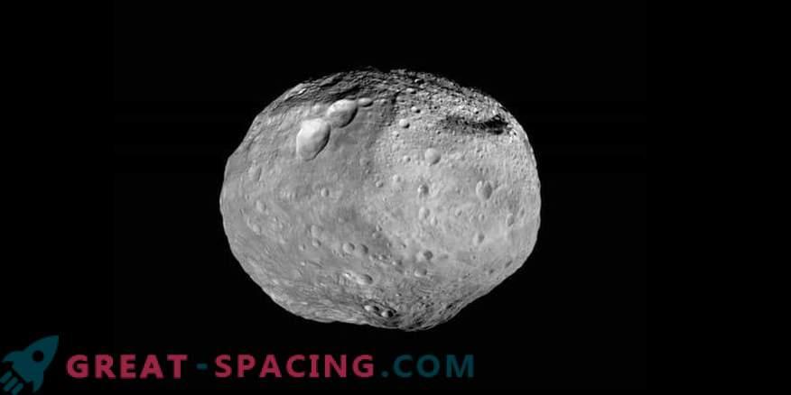 Vesta är Solens största och ljusaste asteroid
