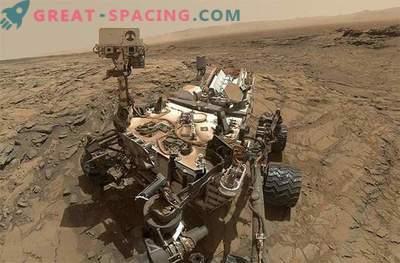 Studier av de antika vattnen i Mars av nyfikenhetens rover: foto