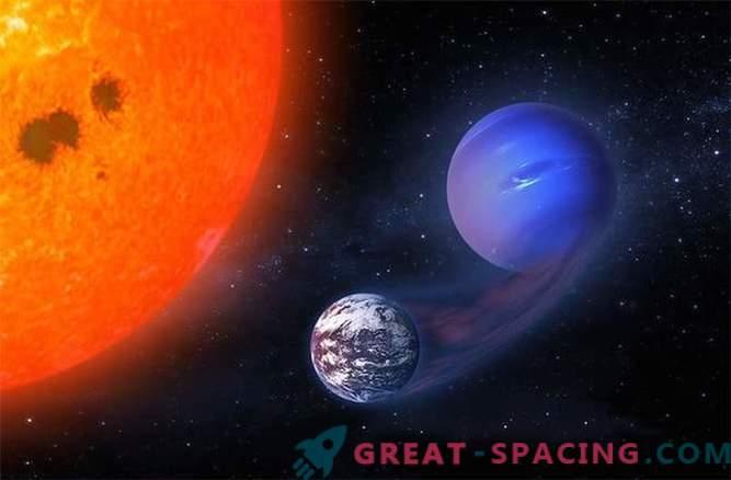 Може ли червеното джудже да превърне мини Нептун в екзо-земя?