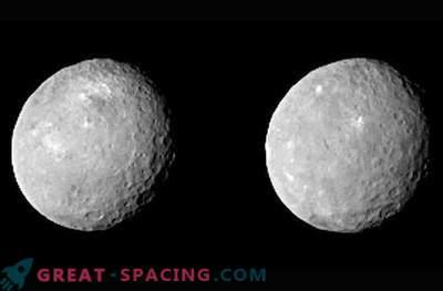Nya bilder på dvärgplanets yta