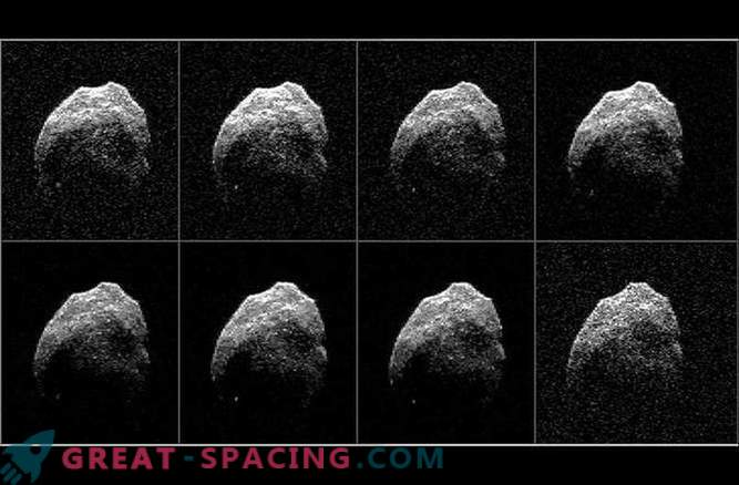 Forskare har fått radarbilder av en kuslig komet