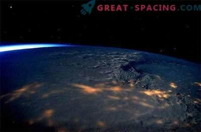 Astronauterna fångade en fantastisk utsikt över snöstormen som rasade på den amerikanska östkusten