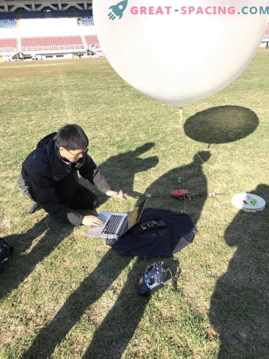 En elev utvecklar en roterande värmesköld för rymdfarkoster