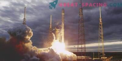 Schlechtes Wetter hat SpaceX nicht daran gehindert, einen Satelliten zu starten.