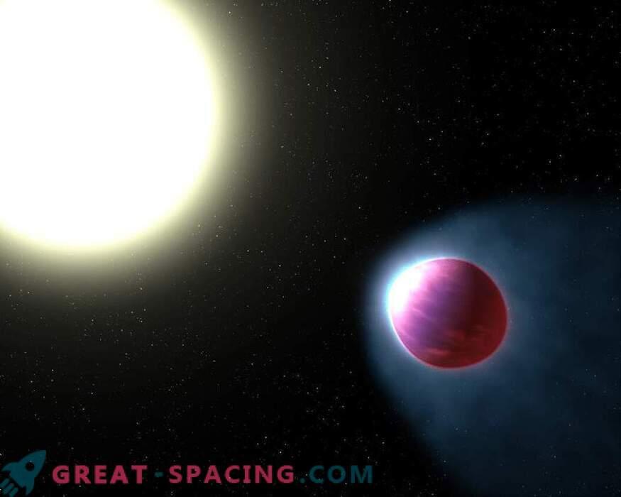 Hubble hittade en exoplanet med en vattenlevande atmosfär