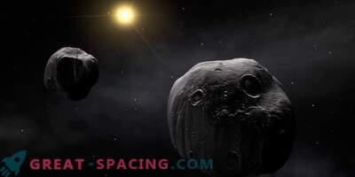Observatorier förenar sig för att studera en sällsynt dubbel asteroid.