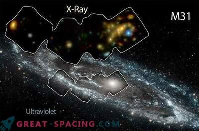 Andromeda Galaxy uppvärms av röntgen